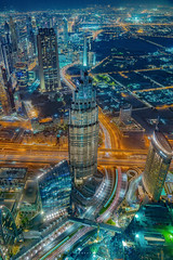 A Night in the Arabia (Valter Patrial) Tags: night nightscape towers tower light urban blue dubai emiradosárabesunidos inexplore