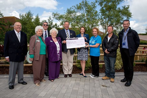 Cheque presentation to Bournemouth Hospital Charity