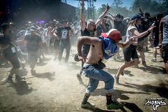Moshpit ! (mzagerp) Tags: hellfest open air festival 2017 clisson france metal metalhead mainstage warzone déguisements gig moshpit