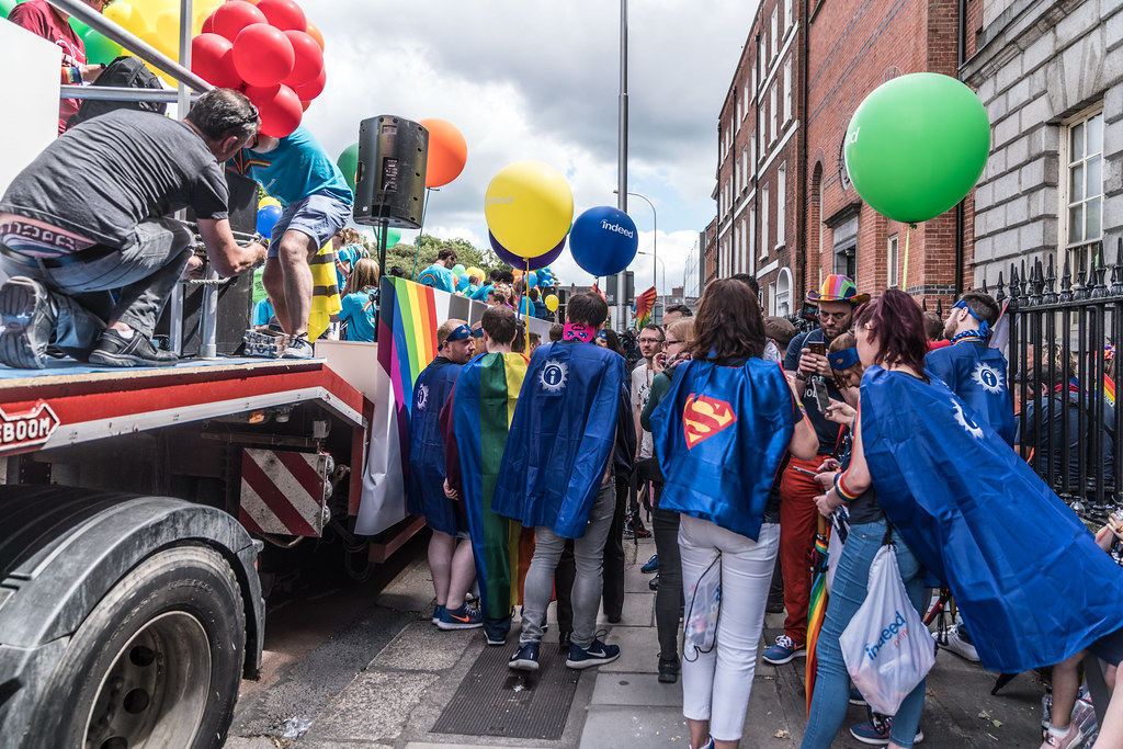 LGBTQ+ PRIDE PARADE 2017 [STEPHENS GREEN BEFORE THE ACTUAL PARADE]-129804