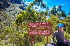 Here we are at the entrance to Huascaran national park and 3600 meters.  Tomorrow we will climb to almost 5000 meters.