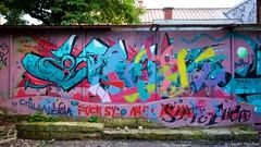 IMGP2249 (Claudio e Lucia Images around the world) Tags: metelkova mesto ljubljana lubiana murales graffiti tag streetart art street colors walls wall sigma