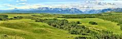 rural Alberta, Canada - ICE(5)1790-95 (photos by Bob V) Tags: waterton mountain panorama mountainpanorama alberta albertacanada prairie