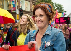 Bronagh Waugh in belfast. (teedee.) Tags: bronagh waugh thousands march for equal marriage rights northern ireland actress from the fall hollyoaks