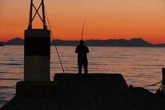P1000580 (FAJM) Tags: greece syvota sivota thesprotia epirus σύβοτα θεσπρωτία ήπειροσ ελλάδα sunset corfu sea κέρκυρα