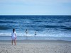 Trying To Get The Kids Out Of The Water (Joe Shlabotnik) Tags: beach june2017 lily sarahp 2017 jonesbeach ocean everett 60225mm