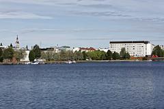 Kajaani / Aikamatkaajat (Tuomo Lindfors) Tags: kajaani suomi finland dxo filmpack aikamatkaajat vesi water tamronsp70200f28divcusd