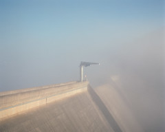 (roundtheplace) Tags: landscape landscapephotography australia australianlandscape architecture industry industriallandscape pentax67 portra portra160 mediumformat fog