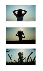 Melayne (S.Frag) Tags: photographer photography sunset sun girl woman shadow canon5dmkiii concertphotography canonphoto canonofficial canon 50mm 50mmf12 flare