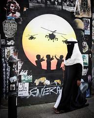 Full Circle (XBeauPhoto) Tags: bricklane islam june2017 london xavbeaumont xavierbeaumont city citylife hijab muslim niqab political religion streetart streetphoto streetphotography urban urbanstreet