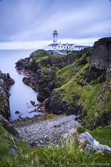 Fanad Lighthouse (Kieran Culleton) Tags: canon coast water wildatlanticway sea seascape seaside 5d3 105 24105 rocks rock cliff cloud clouds light ligthouse donegal beach stone