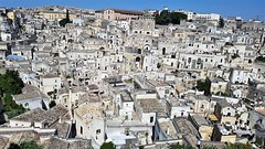 Matera, Italie (patrick Thiaudiere, thanks for 1 million views) Tags: fromabove flickrfriday shotfromabove matera italie italia roofs toits blanc blanco white above