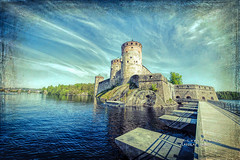 Lightroom-373 (Fin.travel) Tags: finland topaztextureeffects topaz textureeffects 1424 savonlinna travel fintravel fortress