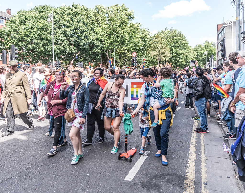 LGBTQ+ PRIDE PARADE 2017 [ON THE WAY FROM STEPHENS GREEN TO SMITHFIELD]-130075