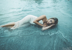 Elena (Grazia Mele) Tags: graziamele girl glamour sea sardinia beach sensual summer shoot sardegna glamourphotography hair emotions expressive nikond750 50mm woman water wonderland model mood manipulation love blue