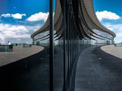 Parallel World II (rainerralph) Tags: architektur glasfront reflection objektiv1240pro omdem1markii germany architecture reflektionen reflections dresden deutschland spiegelung
