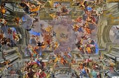 Chiesa Sant'Ignazio Roma - pittura illusionistica (lecocqfranck) Tags: santignazio saintignace église andrea pozzo illusionisme baroque