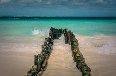 Perspectiva Mar (Ibañez Matias) Tags: isla mujeres mexico nikon d7100 50mm mar caribe seascapes ligthroom composición terqueza inspiracion instagram perspectiva