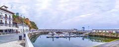 Puerto de Candás (Asturias) (@pabloralonso) Tags: candas puerto mar puertodecandas asturias paisaje landscape sea marcantabrico naturalezaasturiana puertopesquero pentax ngc panoramic panoramica