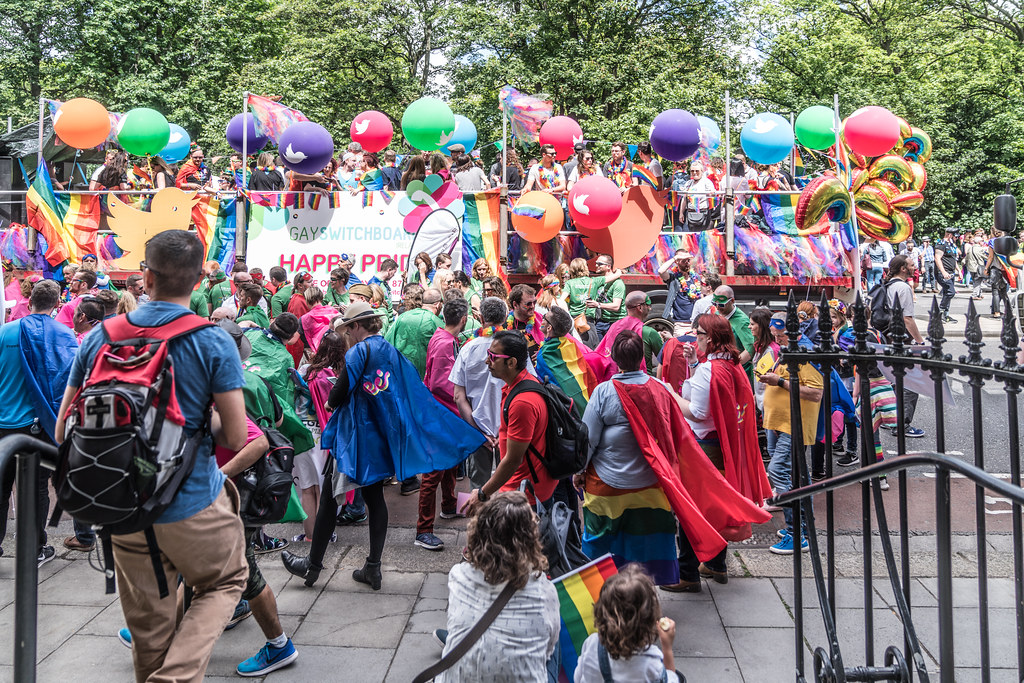 LGBTQ+ PRIDE PARADE 2017 [STEPHENS GREEN BEFORE THE ACTUAL PARADE]-129948