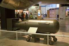 Little Boy (Evo1ve) Tags: museumoftheusairforce museum airforcemuseum atomicbomb bomb littleboy hiroshima