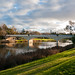Perfect Winter Evening (7 Years ago) (Derek Midgley) Tags: landscape p1000910 morell bridge 1899 melbourne yarra river australia