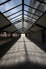 "IMG_6718 Verseidag by Mies van der Rohe (marklarmuseau) Tags: verseidagfactory tagderarchitektur2017 krefeld nrw germany modernism architecture ludwigmiesvanderrohe businesspark ""© copyrighted mark larmuseau"""