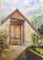 Fenil au Soulor (Demars Philippe) Tags: pyrénées soulor grange fenil demars aquarelle watercolor