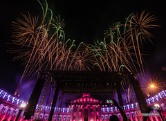 Fourth of July fireworks (srijish) Tags: atx116prodx tokinaaf1116mmf28 nikon d7000 denver colorado independence day
