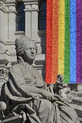 La Cibeles - Madrid (jorgefernandez007) Tags: la cibeles madrid plaza diosa orgullo gay 2017 worldpride