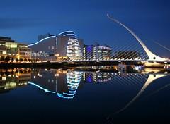 Samuel Beckett Bridge    Dublin   Ireland (Flame1958) Tags: dublin ireland bridge dublinbridge 240513 0513 2013 dublinconventioncentre dublinconventioncenter conventioncentre conventioncenter riverliffey liffey dublinfinancialservices 6279 samuelbeckittbridge samuelbeckitt