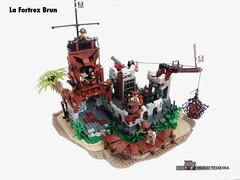 La Fortrex Brun 01 (hrtx) Tags: lego comunidade0937 pirate moc pirates afol