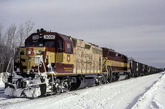 The Map Unit (ac1756) Tags: wc wcl wisconsincentral emd gp40 3026 mapunit oacti sooyard saultstemarie michigan