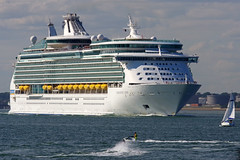 Navigator of the Seas (David Blandford photography) Tags: calshot beach castle southamptonwater solent hampshire navigator seas