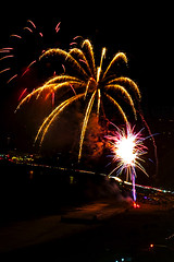 31 (morgan@morgangenser.com) Tags: pacificpalisaddes beach belairbayclub blue celebrate fireworks color iso100 july3rd loud nikon night ocean orange pch people red reflection special spectacular streaks timeexposire tripod yellow amazing