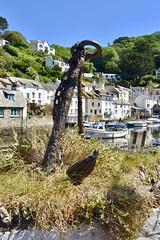 Polperro Harbor Anchor
