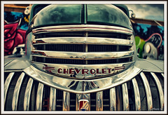 Le monstre (marc.lacampagne) Tags: car american americain old chrome light datail voiture auto hdr canon dof 24mm soe eos
