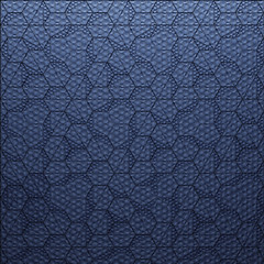 Burst! by Rough Front (_ElijahPorter) Tags: kazaconcrete pattern roughfront texture tile ornament generative surfacedesign concrete hexagon digitalfabrication striation