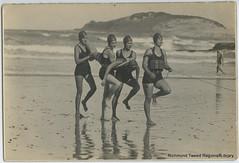 Coffs Harbour Ladies Surf Club Team c 1950 (RTRL) Tags: surflifesaving surfclub surflifesavingcarnival coffsharbour byronbay
