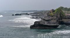 Tanah Lot Rocks (Arushad) Tags: arushad bali indonesia travel arushadahmed dash8x dusk rockformation rocks sunset tanahlot temple tide waves