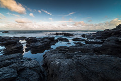 Flinders Blow Hole (treeby.photography) Tags: flinders beach sony sonya7 samyang14mm rokinon14mm slowshutterspeed landscapephotography winter nd8 cokinfilters
