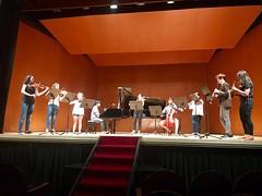 Ensayo de los Peregrinos Musicales en el teatro Principal