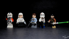 "Figbarf for ""Point Blank"" (RagingPhotography) Tags: lego star wars figbarf minifigure minifig plastic toy jedi stormtrooper general lieutenant recon force"