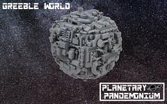 Greeble World (Si-MOCs) Tags: greebles greebs weebles planetarypandemonium caseyoumadman somanygreebs i miss your old avatar casey