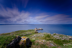 Ireland's Eye Long Exposure (OgniP) Tags: island sea sky ireland longexposure