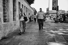 Street 304 (`ARroWCoLT) Tags: mirrorless streetphotography sokak people blackwhite bw art insan human arrowcolt monochrome bnwdemand bnwpeople bnw bnwstreet ishootpeople blackandwhite outdoor portrait streetportrait nx300 30mm primelens friends wall duvar sidewalk kaldırım