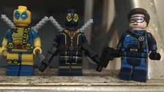 (mattyjory) Tags: lego minifigs cyclops deadpool marvel