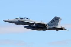 RAAF F/A-18F Rhino (CanvasWings) Tags: fa18f royalaustralianairforce raaf jet aircraft airplane aeroplane military combat warplane