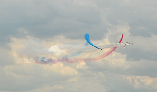 Red Arrows TornadoFormation