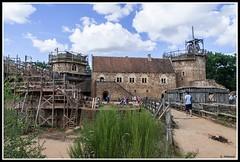 Guédelon - Ils bâtissent un château fort (Guenever45) Tags: château châteaufort guédelon moyenage yonne bourgogne puisaye médiéval chantier bâtisseurs défi architecture